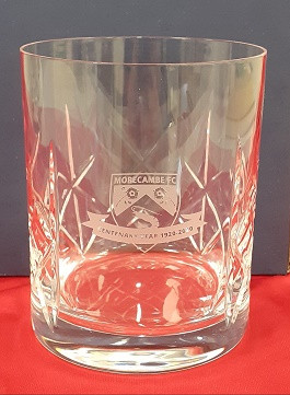 Centenary Crystal Whiskey Glass
