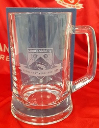Centenary glass crystal tankard
