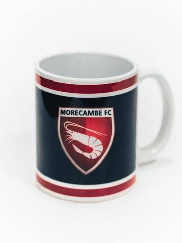 Morecambe FC Mug (Colour: Black With Crest)