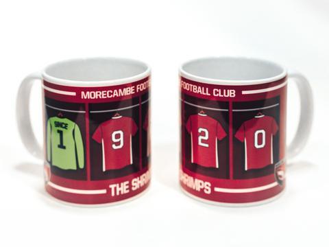 Morecambe FC Mug (Colour: Since 1920)